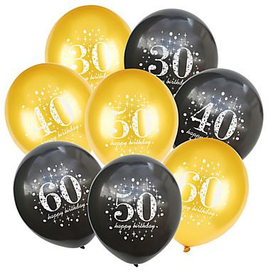 voordelige Feestbenodigdheden-Ballon Emulsie 20 Verjaardag