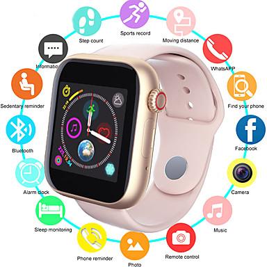 levne Pánské-Pánské Inteligentní hodinky Digitální Sportovní Stylové Silikon Černá / Bílá / Růžová 30 m Voděodolné Bluetooth Smart Digitální Módní - Černá zlatá + černá Bílá Jeden rok Životnost baterie