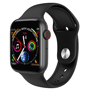 levne Pánské-Inteligentní hodinky Digitální Moderní styl Sportovní Silikon 30 m Voděodolné Monitor pulsu Bluetooth Digitální Na běžné nošení Outdoor - Černá Bílá