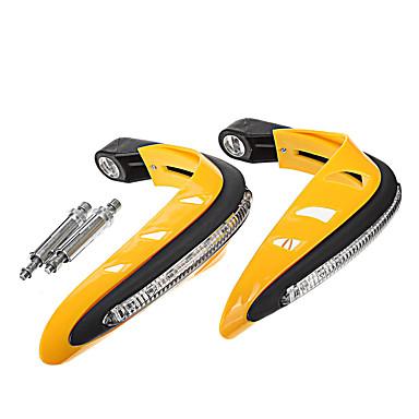 povoljno Motori i quadovi-par motocikl jantarni svjetlosni štitnik za zaštitu ruke za terenski atv upravljač