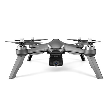 cheap RC Drone Quadcopters & Multi-Rotors-RC Drone JIE STAR S002 RTF 4CH 6 Axis 2.4G With HD Camera 1080P 1920x1080P RC Quadcopter GPS Positioning / Hover RC Quadcopter / Remote Controller / Transmmitter / 1 USB Cable Lead / 90 Degree