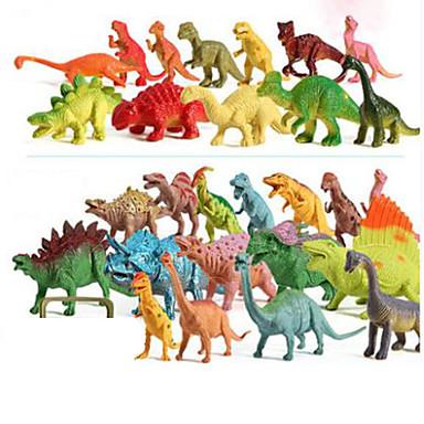 Pretend Play รุ่นและอาคารของเล่น Dinosaur พลาสติค