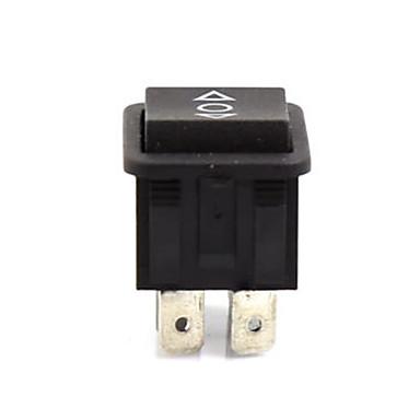 billige Bildeler-1 sett vekselstrøm 250v / 16a vekselstrøm 125v / 10a dpdt av / på-på 3 stilling 6 pins bil vippebåt bryter