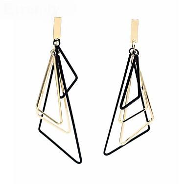 voordelige Dames Sieraden-Dames Druppel oorbellen Lang Verticaal Stijlvol oorbellen Sieraden Goud / Zilver Voor Dagelijks 1 paar
