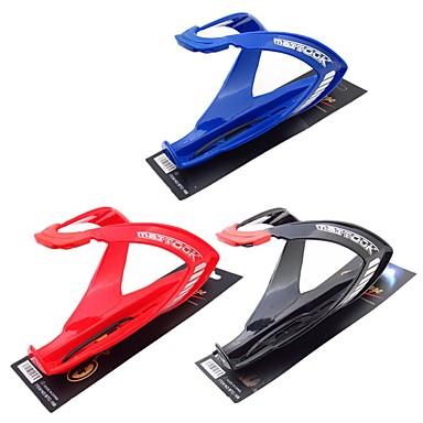 billige Sykkeltilbehør-Sykkel Water Bottle Cage Utendørs Til Sykling Triatlon BMX Sykkel med fast gir PC Svart Rød Blå 1 pcs