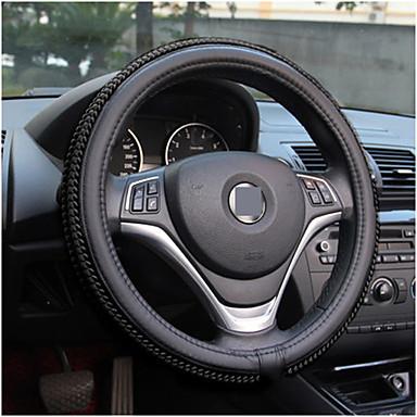 cheap Steering Wheel Covers-Car steering wheel cover Skidproof Auto Steering- wheel Cover Anti-Slip Universal Embossing Car-styling summer season set of ice silk slip