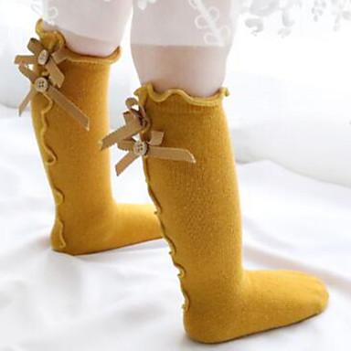 economico Intimo e calzini per ragazze-Bambino (1-4 anni) Da ragazza Tinta unita Intimo e calzini Nero