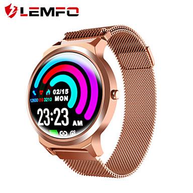 levne Pánské-Pro páry Inteligentní hodinky Digitální Stylové Nerez Černá / Zlatá / Růžová 30 m Monitor pulsu Bluetooth Smart Analogové Módní - Černá Zlatá Růžová Dva roky Životnost baterie
