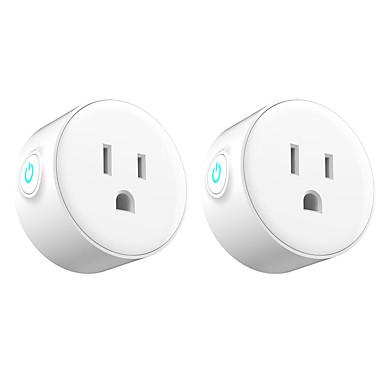 cheap Smart Plug-2 Pack Smart Plug  for Living Room / Study / Bedroom APP Control / Timing Function / Smart WIFI 110-150 V Smart Sokcet two Pack-US PLUG