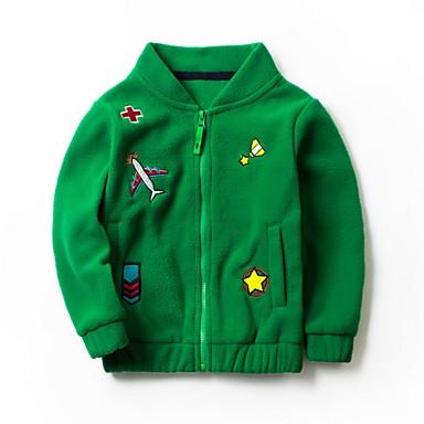 povoljno Odjeća za dječake-Djeca Dječaci Osnovni Print Jakna i kaput Red