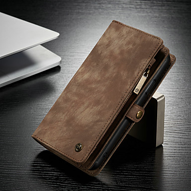 cheap iPhone Cases-CaseMe Case For Apple iPhone 11 / iPhone 11 Pro / iPhone 11 Pro Max Multifunction Magnetic Flip Wallet Phone Case Retro Leather Phone Cases with Card Holder