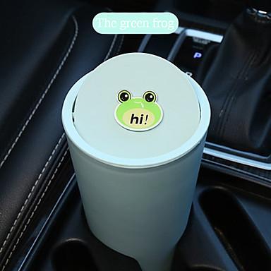levne Doplňky do interiéru-karikatura roztomilé auto koše může auto dodává auto vnitřní odpadky pytel auto skladování trubice multifunkční