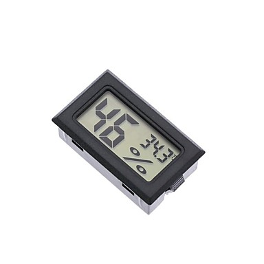 cheap Aquarium Heaters & Thermometers-Mini Digital LCD Indoor Convenient Temperature Sensor Humidity Meter Thermometer Hygrometer Gauge