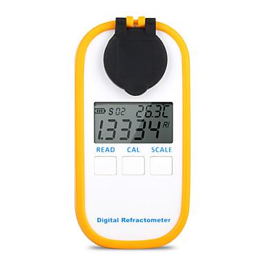 voordelige Test-, meet- & inspectieapparatuur-dr301 digitale honing refractometer meten suikergehalte meter bereik 090 brix refractometer baume honing water concentratie tool