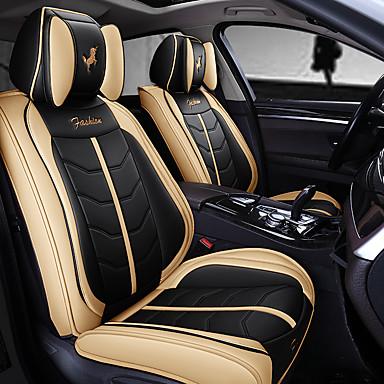 voordelige Auto-interieur accessoires-5 stks / set vijf autostoelkussens vier seizoenen gm volledige pakket autostoelhoezen nieuw type zitkussen compatibel met airbag.
