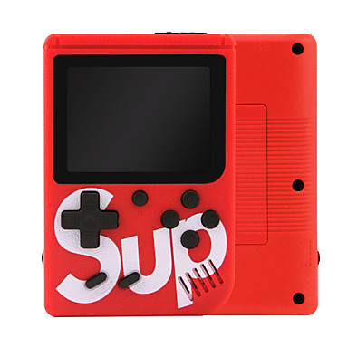 voordelige Smartphone gaming-accessoires-400 in 1 mini retro gameconsole sup ingebouwde 5 grote simulator voor gba arcade fc games machine draagbare handheld gameconsole