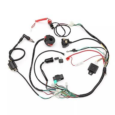 levne Auto Elektronika-kabeláž kabeláž tkalcovský stav cívka usměrňovač cdi 50cc 70cc 110cc 125cc atv quad kolo go kart