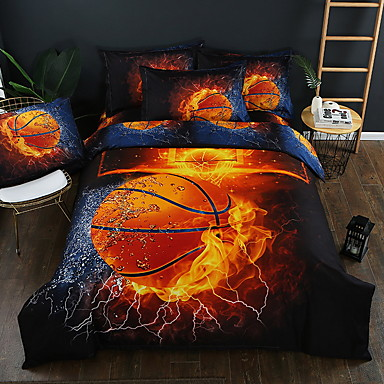 cheap Duvet Covers-Duvet Cover Sets 3D Polyester / Polyamide Printed 3 PieceBedding Sets