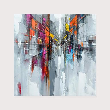 povoljno Bez unutrašnje Frame-Hang oslikana uljanim bojama Ručno oslikana - Sažetak Moderna Bez unutrašnje Frame