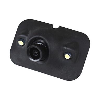 levne Auto Elektronika-ziqiao mini ccd hd noční vidění 360 stupňů auto zadní pohled kamera přední kamera pohled zepředu boční zpětná kamera 2 led