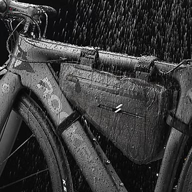 preiswerte Radtaschen-5 L Fahrradrahmentasche Wasserdicht Regendicht Radfahren Fahrradtasche 600D Ripstop 420D Nylon Tasche für das Rad Fahrradtasche Radsport Outdoor Übungen Motorrad