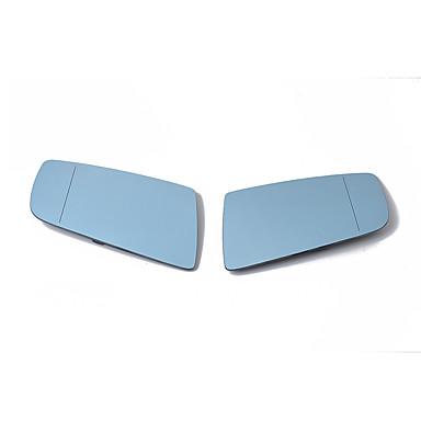 billige Bildeler-1 par venstre høyre bil bil oppvarmet blå tonet vingespeilglass 51167065081 (venstre) 51167065082 (høyre) for bmw