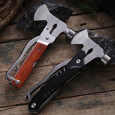 cheap Camping Tools, Carabiners & Ropes-Bottle Openers Knives Survival Kit Multitools Multi Function Convenient Stainless Steel Camping Outdoor