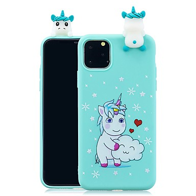 povoljno iPhone maske-Θήκη Za Apple iPhone 11 / iPhone 11 Pro / iPhone 11 Pro Max Uzorak Stražnja maska 3D likovi TPU