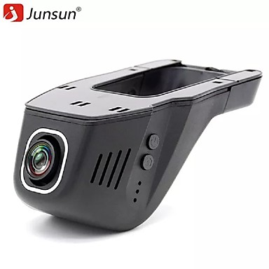 billige Bil-DVR-junsun s100 dvrs registrator dashcam kamera fhd 1080p videoopptaker videokamera natt versjon 96655 imx322 wifi kamera