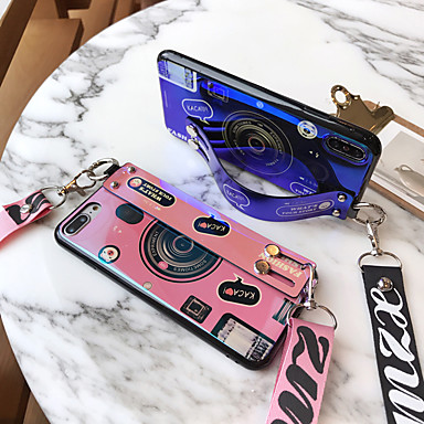 cheap iPhone Cases-Apple Applicable to 11/11 Pro/11 Pro Max Blu-ray Camera XS Max/XR/X with Wrist 6 Plus/7 Plus/8 Plus Cartoon 6/7/8 Four-sided Anti-fall Mobile Shell
