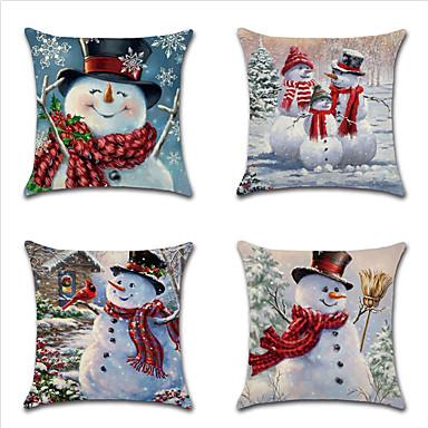 رخيصةأون رمي الوسائد-عيد الميلاد وسادة غطاء وسادة تغطي سلسلة 19 موضوع سيارة ثلج