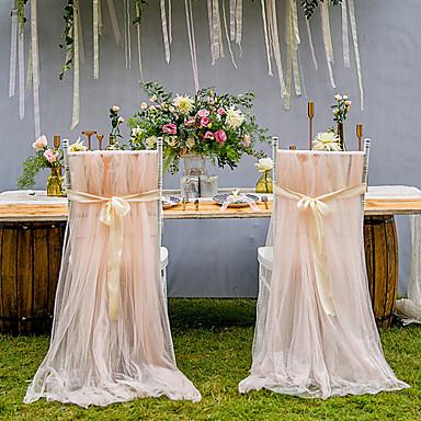 preiswerte Zeremonie Dekoration-Satin / Tüll PVC Tasche Zeremonie Dekoration - Hochzeit / Party / Abend klassisches Thema / kreativ / Hochzeit