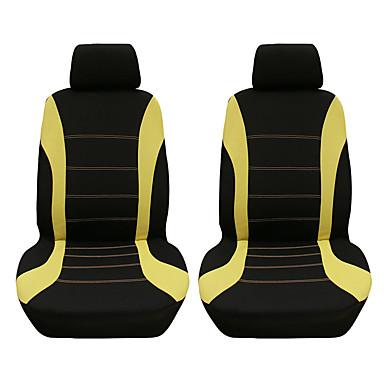 billige Interiørtilbehør til bilen-4stk / sett bilsete deksel beskyttelsessete komfortable støvtette hodestøtte foran setetrekk