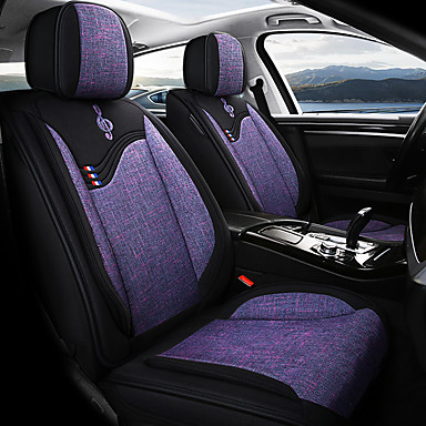 Car seat covers protectors for Audi A4 No4 black-red