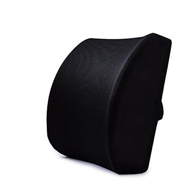 billige Interiørtilbehør til bilen-bilminne skum midje støtte svart rygg pad 3d maske deksel balansert og solid designet for å vippe seter