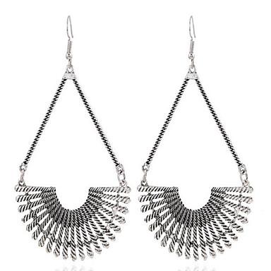 voordelige Dames Sieraden-Dames Druppel oorbellen Bloem Vintage Verguld oorbellen Sieraden Goud / Zilver Voor Dagelijks 1 paar