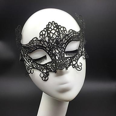 levne Masky-Halloweenské masky Sexy krajková maska Párty Novinka Krajka Jídlo a nápoje Dámské