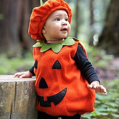povoljno Kompletići za dječake-Dijete koje je tek prohodalo Dječaci Osnovni Print Halloween Bez rukávů Komplet odjeće žuta