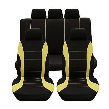 billige Interiørtilbehør til bilen-9stk / sett bilsete deksel komfortabelt støvtett setevern beskyttelse universelt sete putetrekk