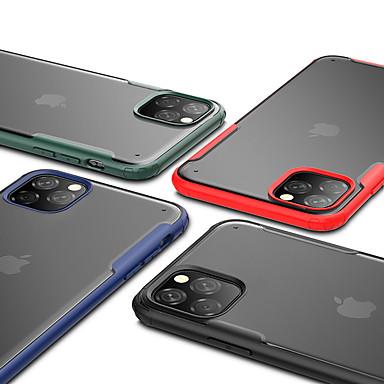 povoljno iPhone maske-Θήκη Za Apple iPhone 11 / iPhone 11 Pro / iPhone 11 Pro Max Otporno na trešnju / Translucent Stražnja maska Jednobojni TPU / PC