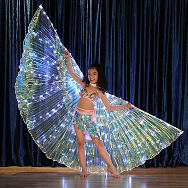povoljno Odjeća i obuća za ples-Oprema za ples Izidina krila Djevojčice Seksi blagdanski kostimi Terilen LED
