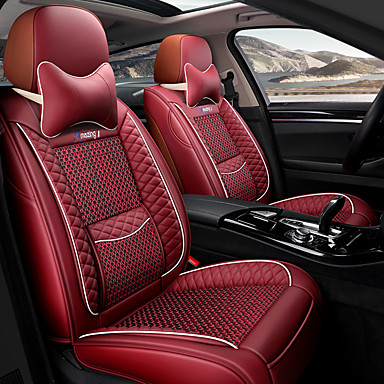 cheap Car Seat Covers-Car seat cushion leather linen 3D three-dimensional thickened seat cushion new luxury car seat cover
