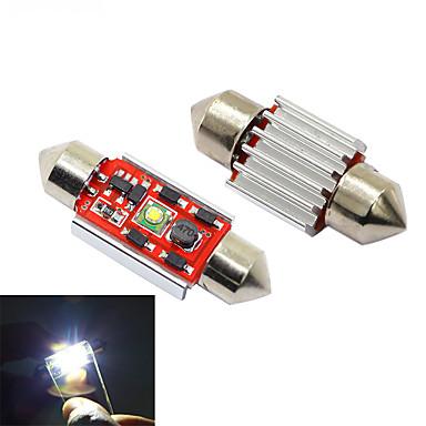 2 unidades 4014 C5W luces LED Canbus c/úpula de lujo luces interiores del coche mapa luz de lectura DC12V 31//36//39 41mm 36mm