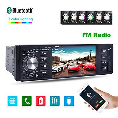 levne Auto Elektronika-4019b 4,1 palce 1 din auto rad auto auto stereo stereo auto multimediální přehrávač bluetooth podpora zadní pohled kamera usb dálkové ovládání na volantu
