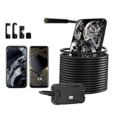 levne Mikroskopy a endoskopy-5,5 mm průmyslový endoskop čočky 500 cm pracovní délka opravy autoservisu opravy potrubí vhodné pro telefony Android