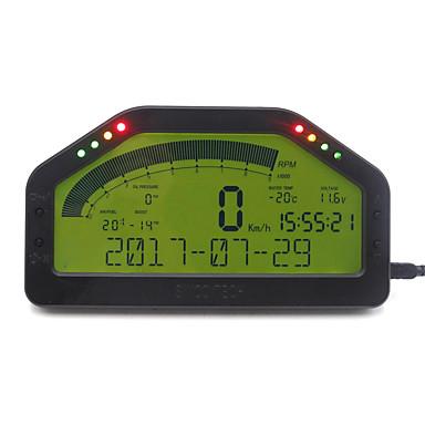 povoljno Mjerač tlaka u gumama-dash race lcd display kompletni senzorski komplet zaslona nadzorne ploče rally mjerač sa bluetooth funkcijom