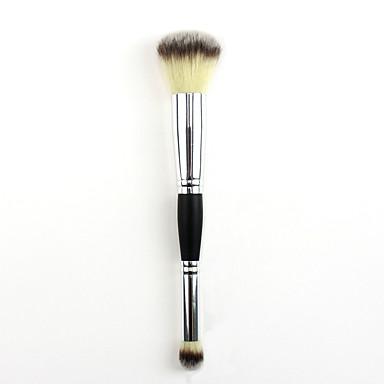 preiswerte erröten Bürsten-Professional Makeup Bürsten 1pc Weich Neues Design Bequem Künstliches Haar Hölzern zum Rougepinsel Lidschatten Pinsel