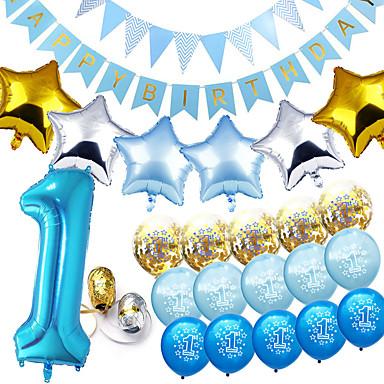 voordelige Feestbenodigdheden-Ballon Emulsie 1 set Verjaardag
