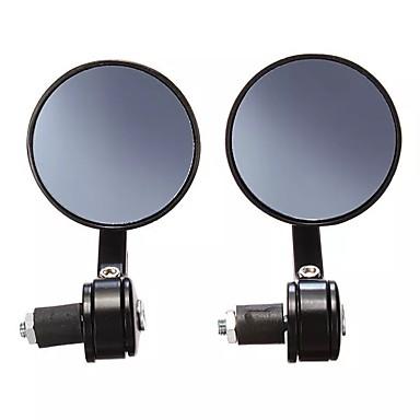 billige Rear View Monitor-7/8 cnc universal motorsykkelstyrt svart bakspeil