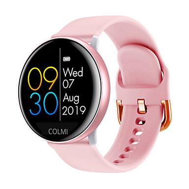 levne Pánské-Pro páry Inteligentní hodinky Automatické natahování Stylové Silikon Černá / Šedá / Růžová 30 m Monitor pulsu Bluetooth Smart Analogové Módní - Černá Růžová Šedá Jeden rok Životnost baterie